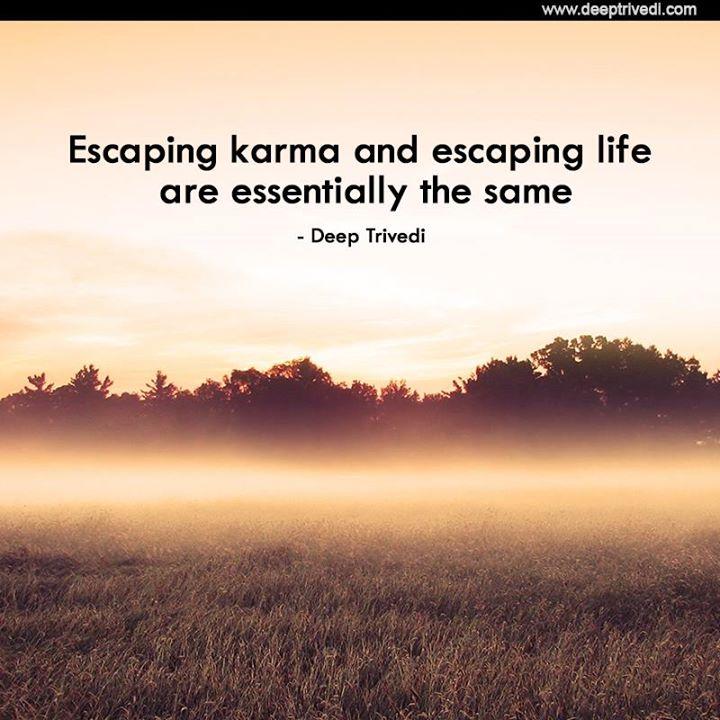 Karma and Life width=