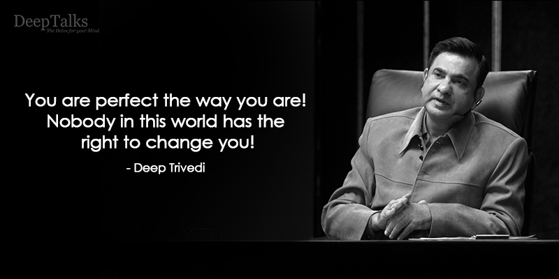 Never Change Yourself
