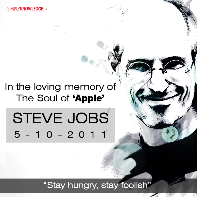 In the Loving Memory of steve jobs