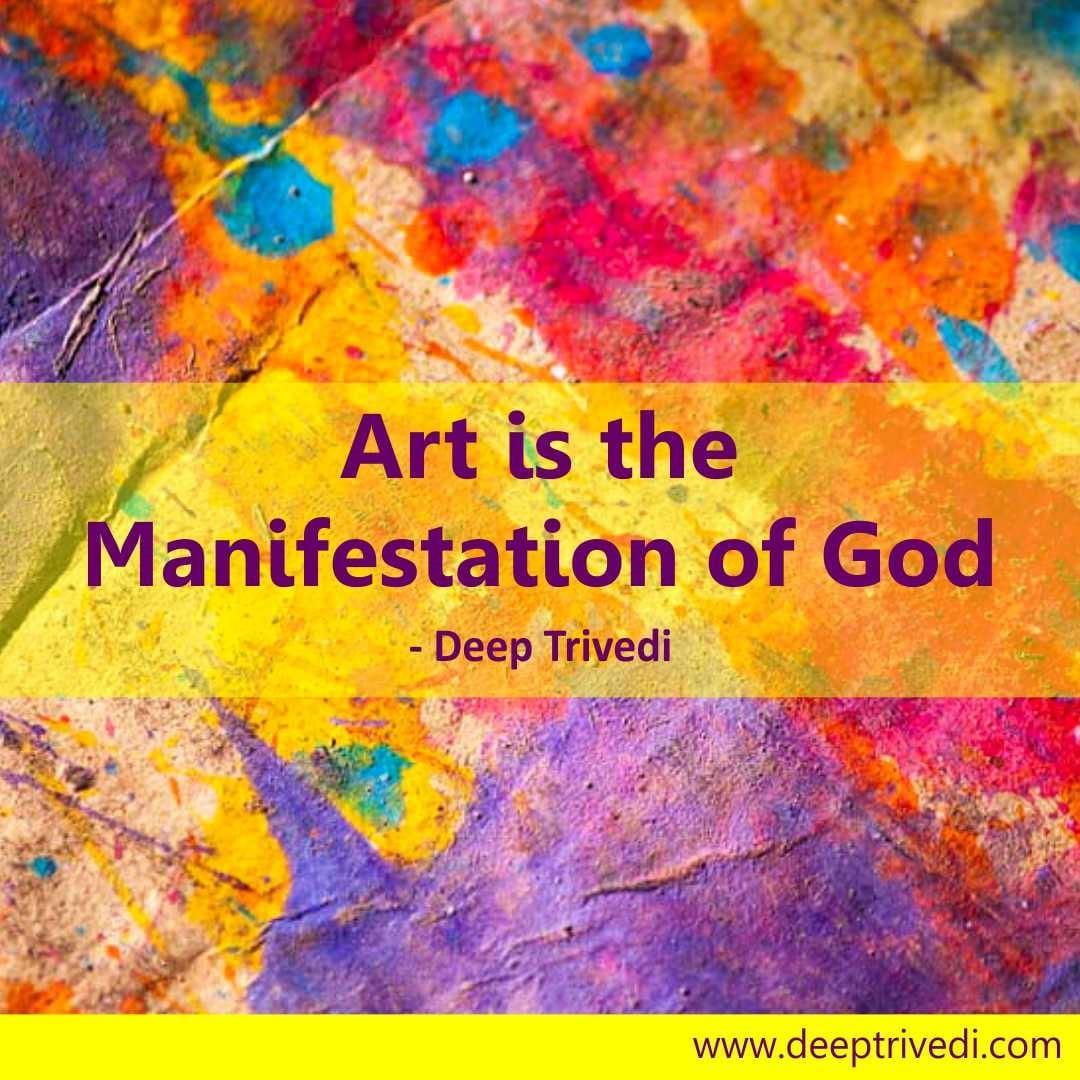 art-mainifestaion-god
